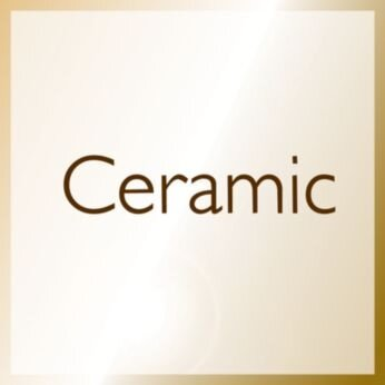 More care with Ceramic technology, providing infrared heat