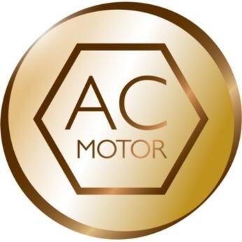 Professional AC motor for 50% longer lifetime