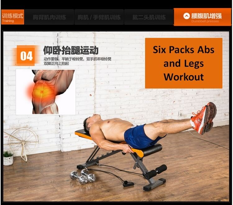 Sellincost top specs adjustable foldable six packs sit up