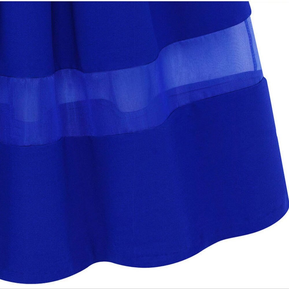 organza silk pleated skirts fabric splicing skirt