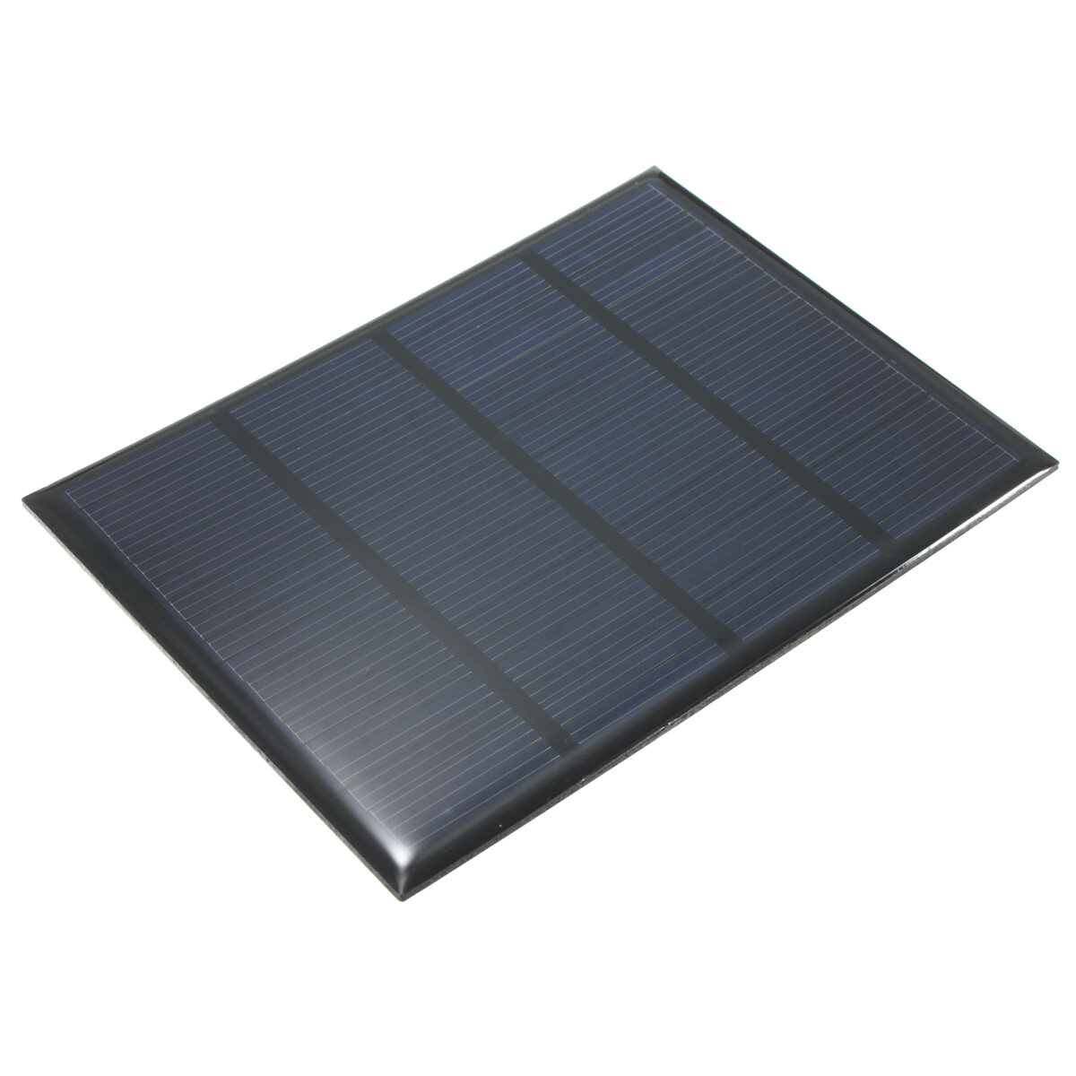 Solar Panel 12v 100ma 1 5w Small Solar Cell Black Lazada
