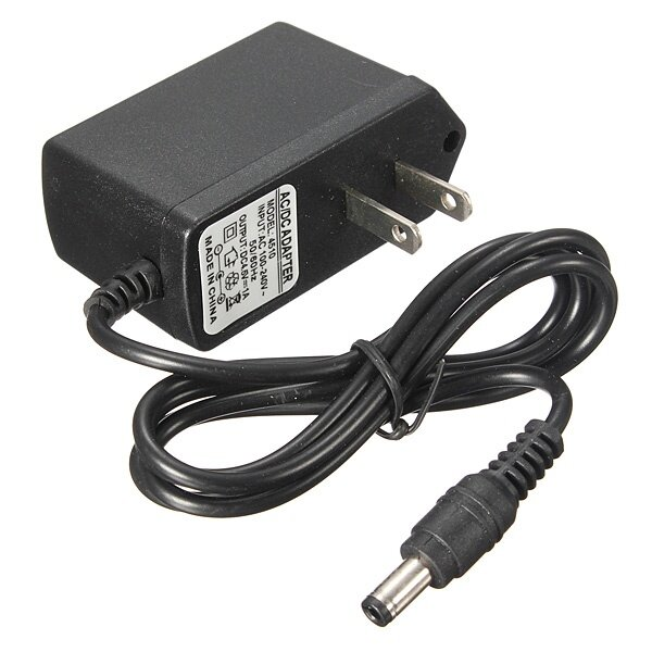 AC DC 100-240V 4.5V 1A 2.5mm Switching Power Adapter Charger (US ...