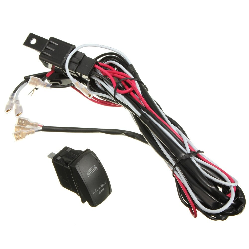Led Light Bar On Off Rocker Switch W End 3 28 2019 915 Am Show Wiring Harness Image