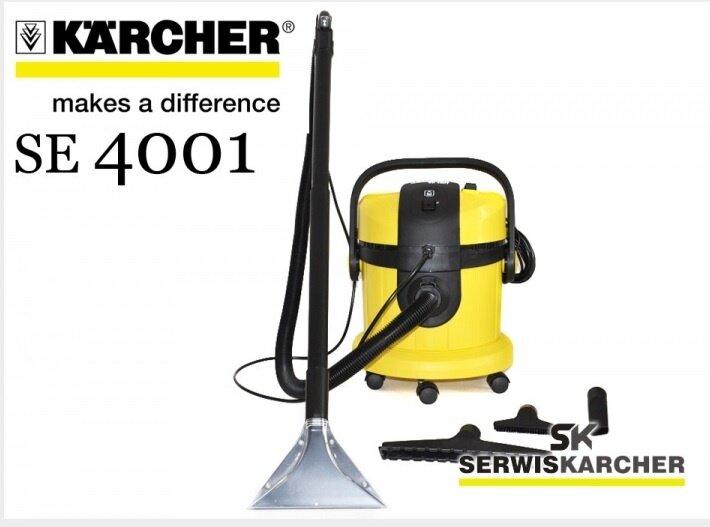 Karcher Se 4001 3 In 1 Hard Floor And Carpet Cleaner Lazada