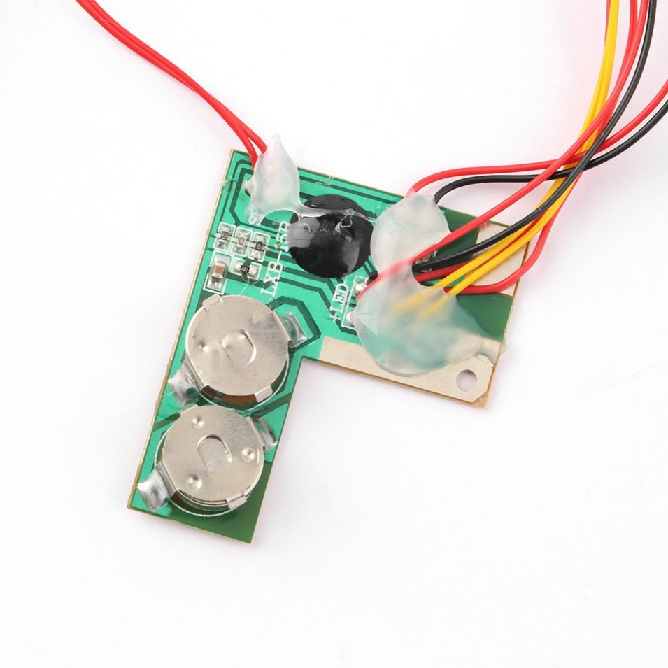 Oh recordable voice module for greeting card music sound talk chip record your own message great for greeting cards convenient designed for cardmaking and other similar projects allows you to add sound to custom made kristyandbryce Image collections