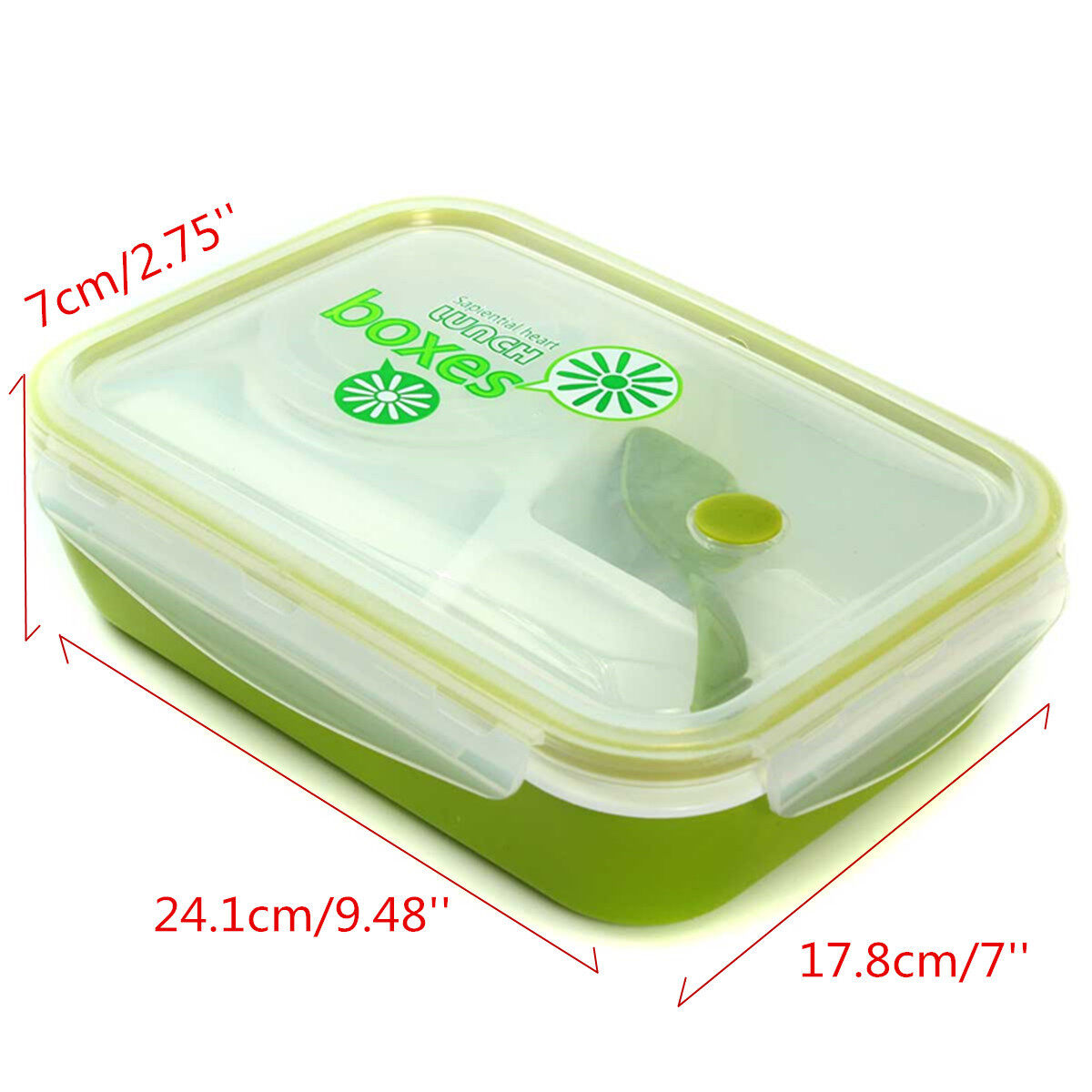 kids soup bowl spoon food picnic container lunch bento box microwave tableware green lazada. Black Bedroom Furniture Sets. Home Design Ideas
