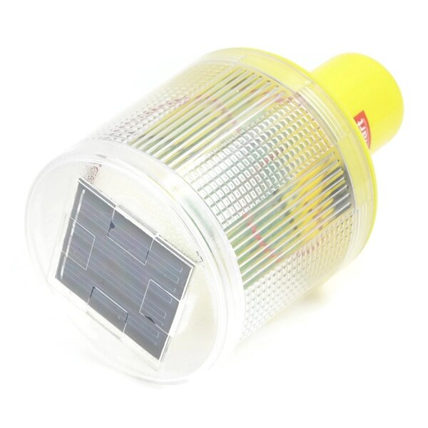 Solar Lights Lazada: Solar Warning Signal Light White