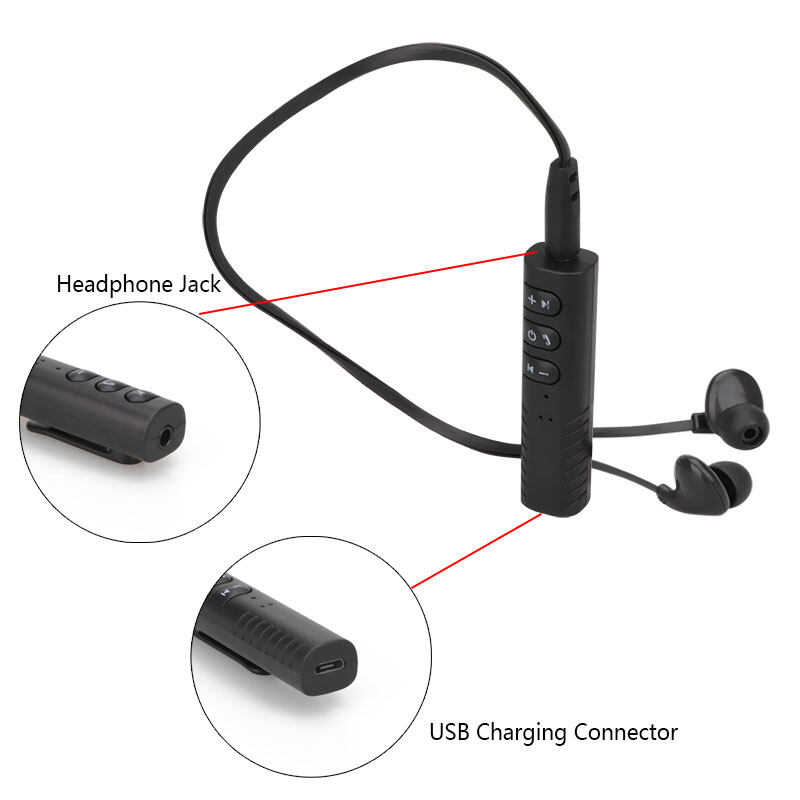 Wireless headset with mic