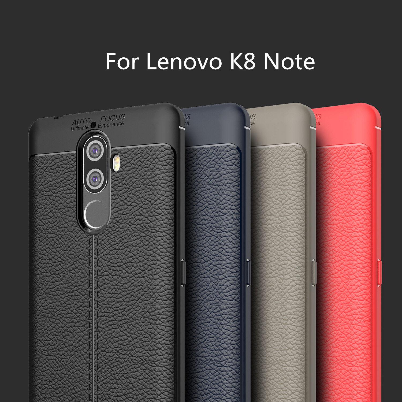 Generic For Lenovo K8 Note Case Soft Litchi TPU Rugger Back