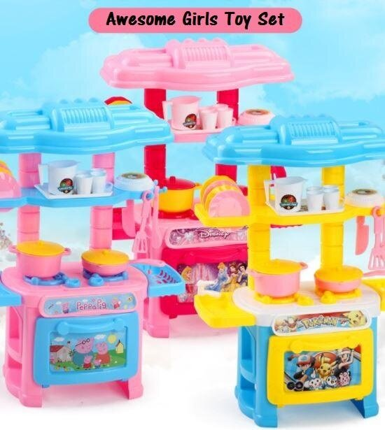 OSUKI Toys Creative Kitchen Set