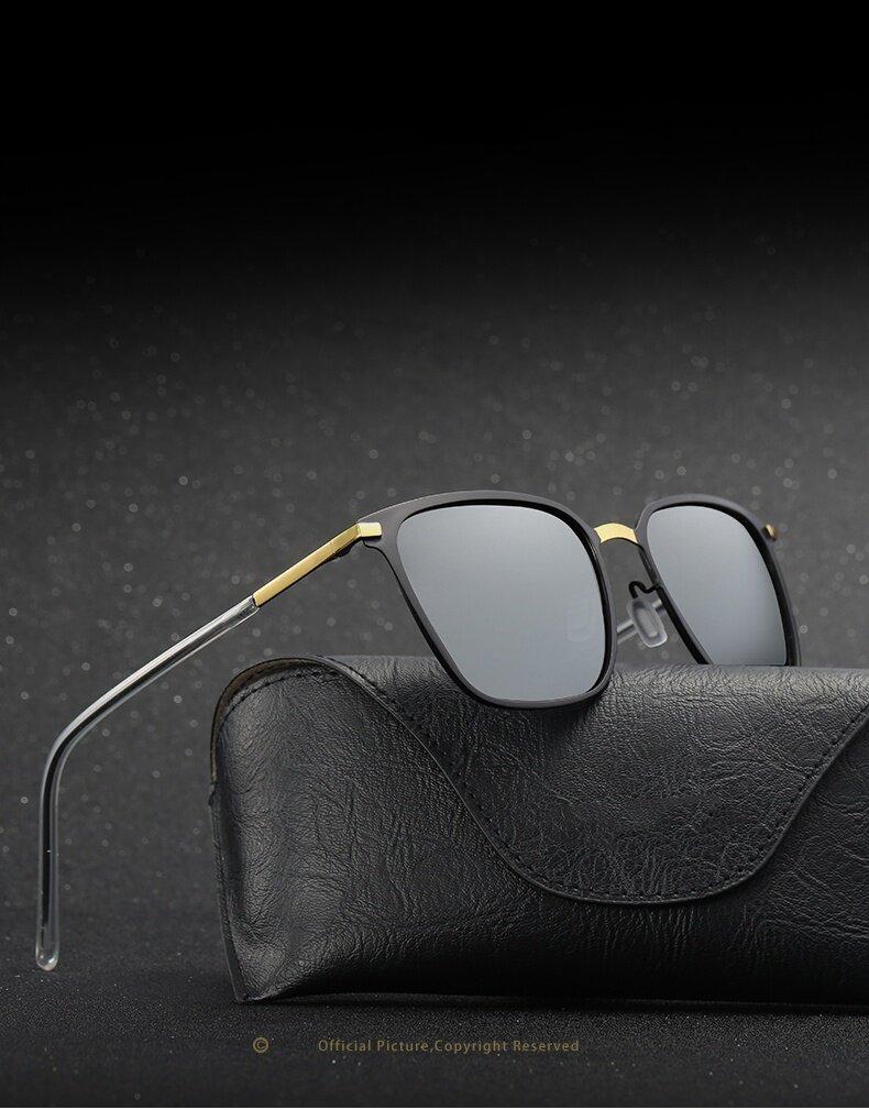 ... sunglasses(Gold baked black ราคา Men's sunglasses new box polarized… แนะนำ Mens Aluminum Polarized Driving Sunglasses ... Source · Anti-UV level : UV400 ...