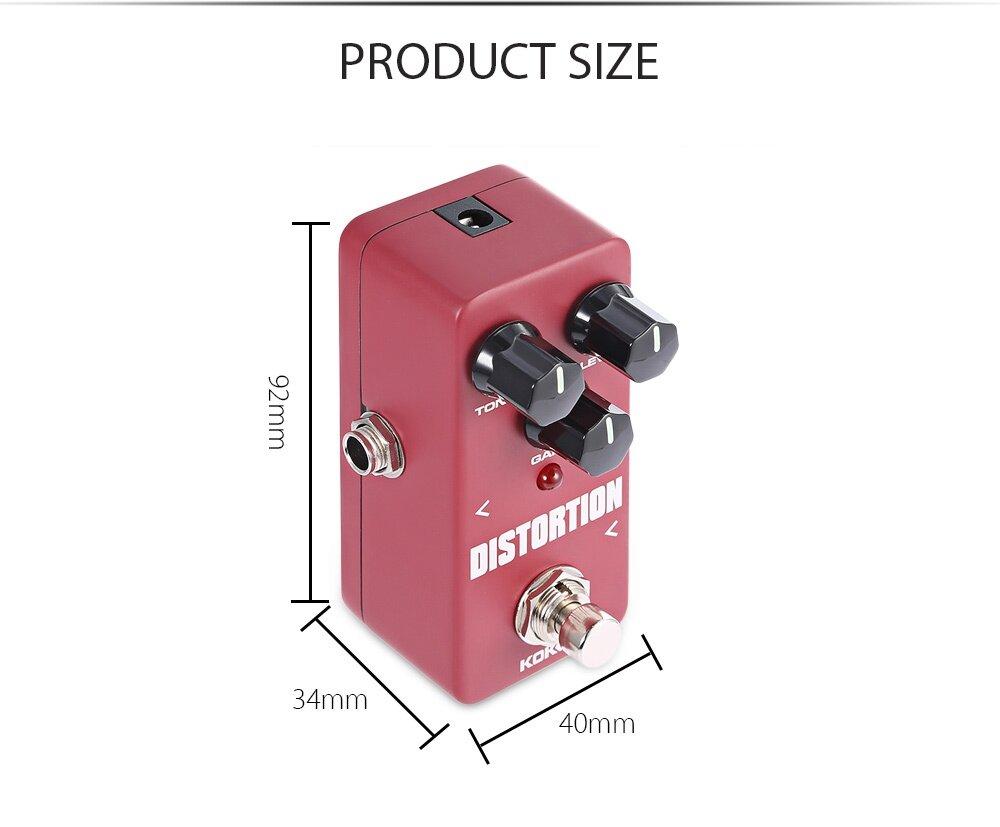 Flanger KOKKO Distortion Pure Analog Circuit True Bypass Design Mini Guitar Effect Pedal