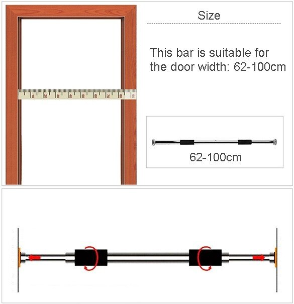 golds gym pull up bar instructions