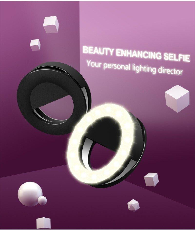 High Quality Low Price RK-14 Selfie Ring Light outdoor light flashing lights