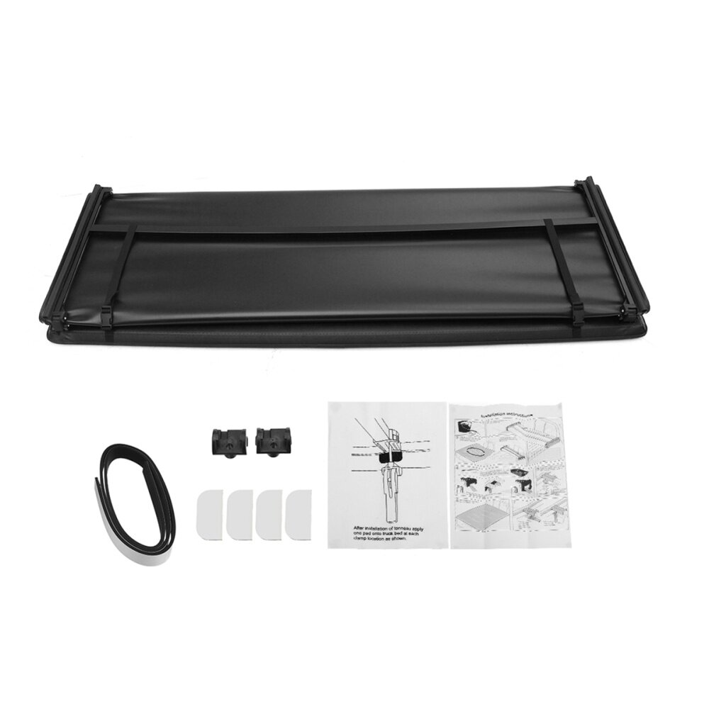 Mitsubishi L200 2010-2014 Tri-Fold Tonneau Cover Long Bed Exterior Part