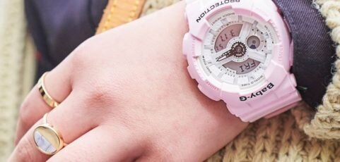 [Live Photos] Baby-G BA-110BE-4A  the trend of casual fashion style with vintage clothes