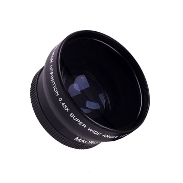 52MM 0.45X Wide Angle Macro Lens For Nikon D5000 D5100 D3200 D3100 D90