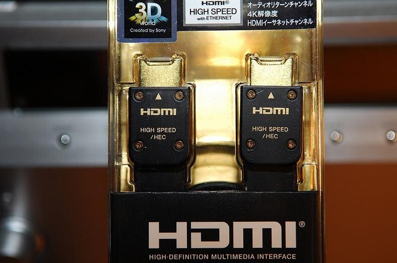 Sony HDMI Cable DLC-HE20XF 1.4V 4K Japan OEM with HEC Upgrade 2Meter