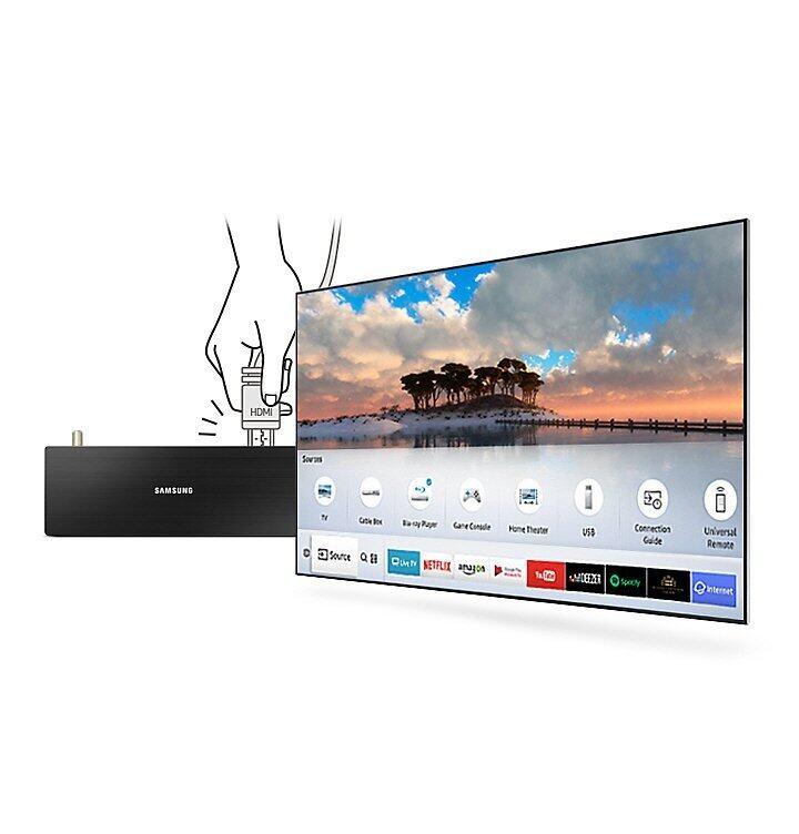 M5500 Smart Full HD TV: Auto detection