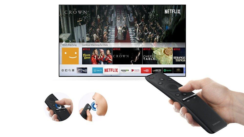 M5500 Smart Full HD TV: One remote control