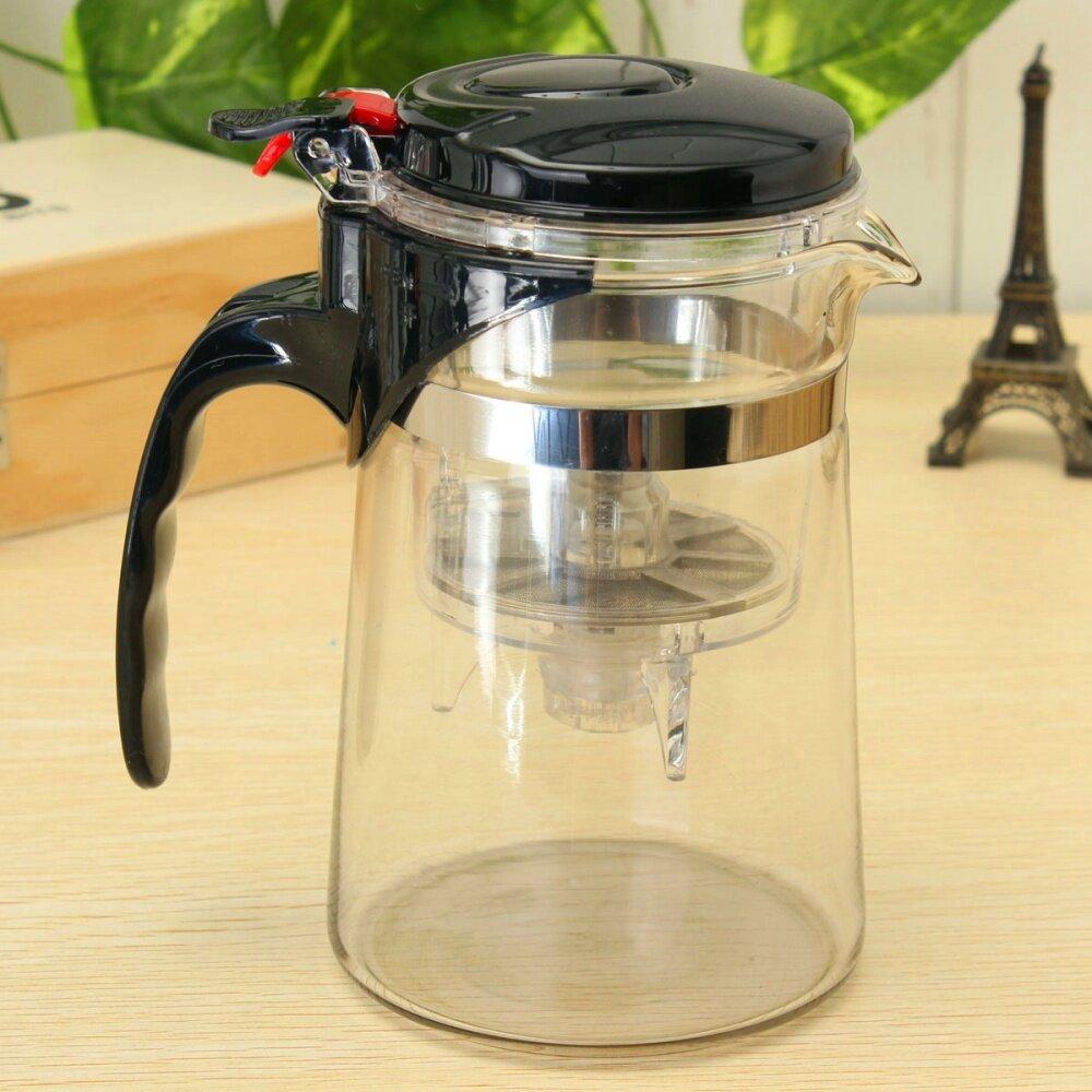 Glass Teapot Coffee Maker : Clear Glass Tea Coffee Maker Mug Pot With Filter Infuser Straight 500ml 17Oz Lazada Malaysia