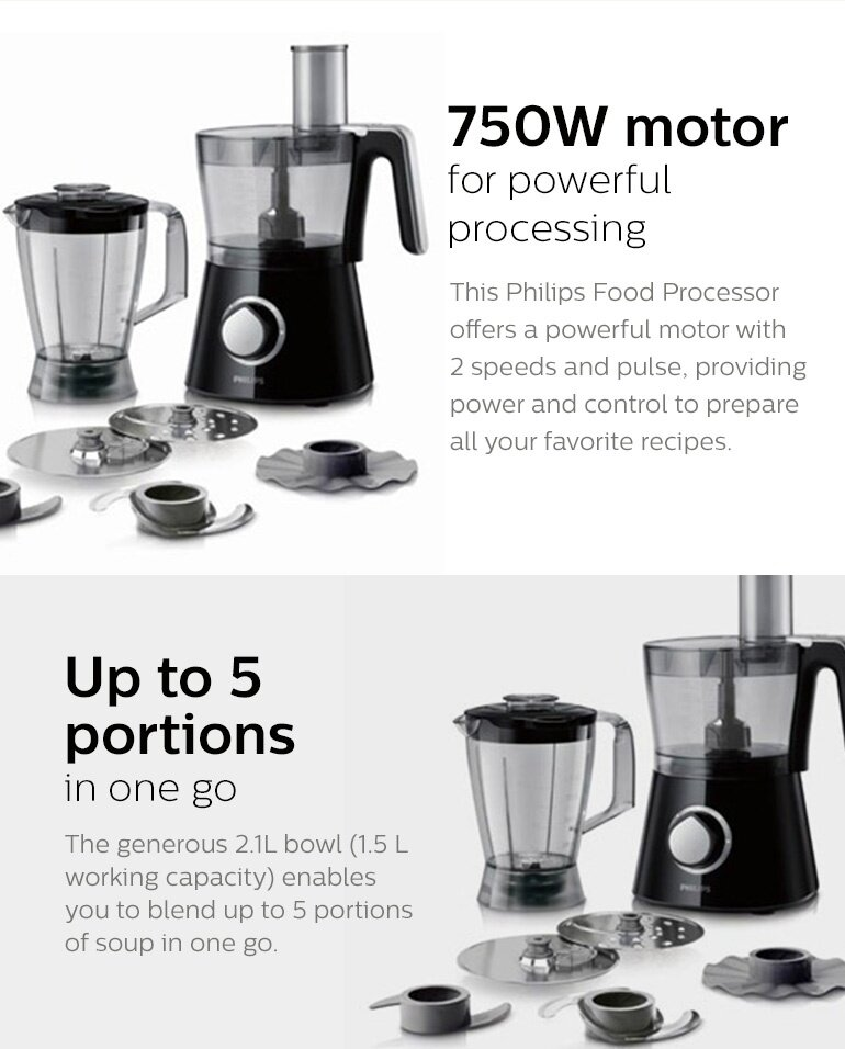 Philips Viva Collection Food Processor Review