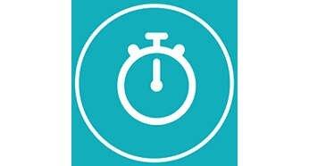 1 minute program (timer) for the full face