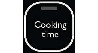 Easy to program timer indicates the cooking progress