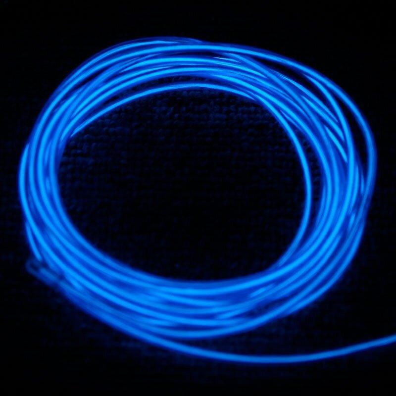 3M Blue Flexible Neon Light EL Wire (end 1/24/2019 7:15 PM)