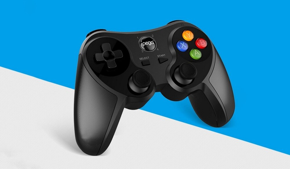 ipega PG - 9078 Universal Wireless Bluetooth Game Controller with Bracket for Android / iOS / Tablet / TV / PC