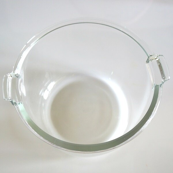 Quality thick tough see-through glass pot ensures safe and healthy cooking.