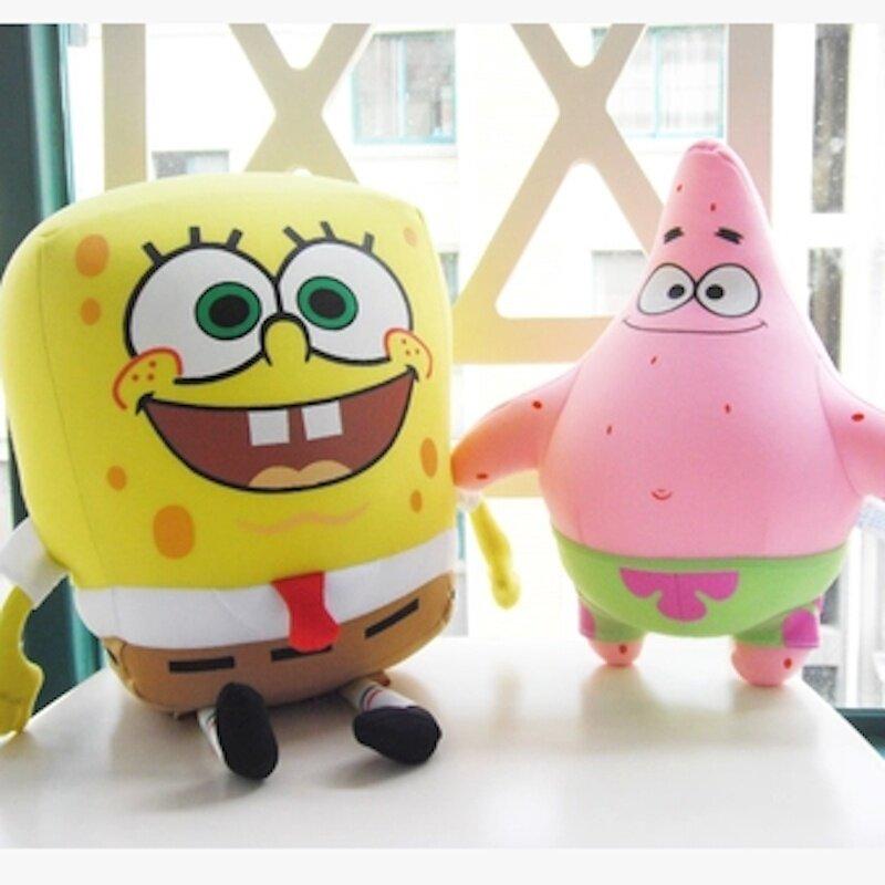 Spongebob Bean Toy 35cm Stuffed Plush Soft Toy Teddy Doll Toys