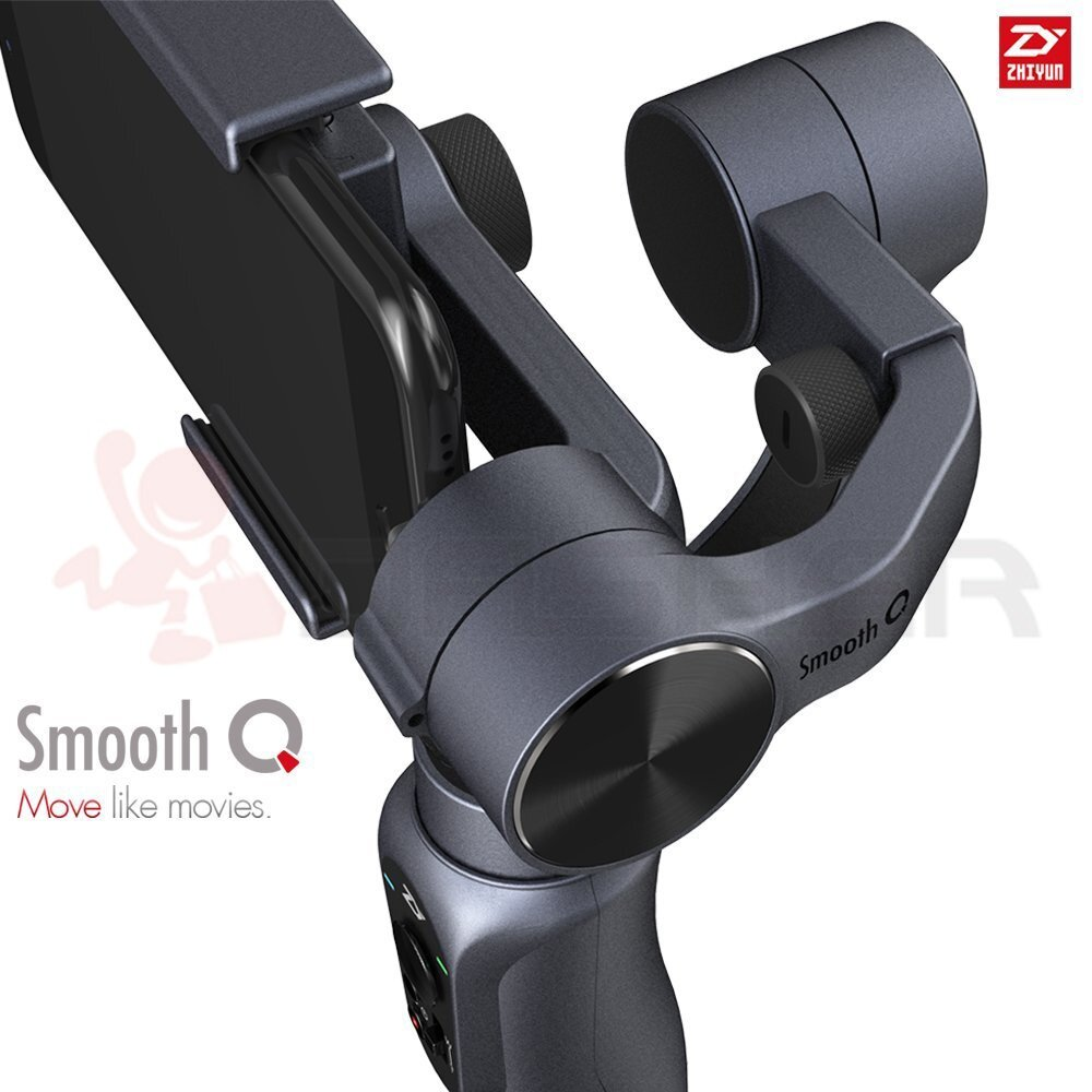 gimbal, smartphone, action cam, smooth q, stabilizer