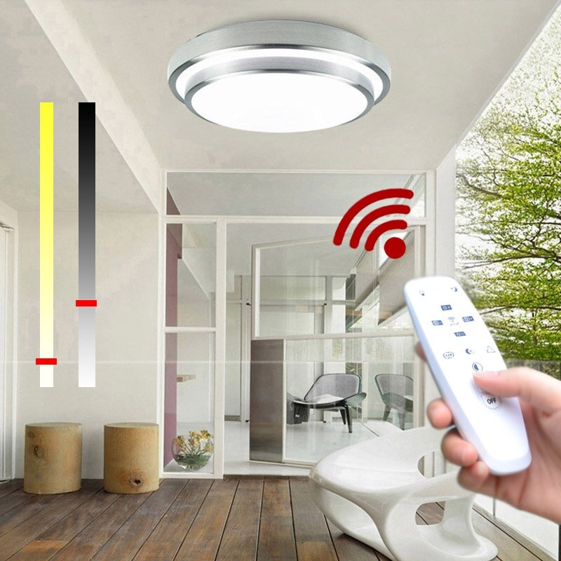 Surprising Jiawen Led Ceiling Lights Change Color Temperature Ceiling Lamp 30W Smart Remote Control Dimmable Bedroom Living Room Download Free Architecture Designs Momecebritishbridgeorg