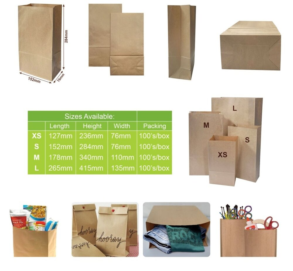 Packie kraft paper bag s size 100pcs lazada specifications of packie kraft paper bag s size 100pcs malvernweather Choice Image