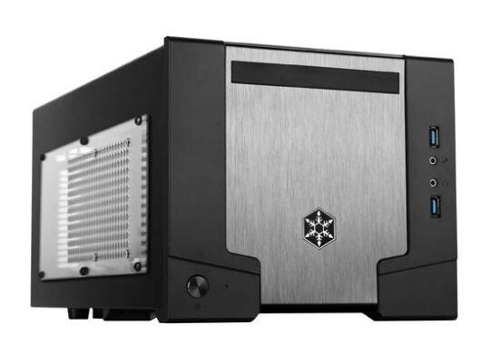 SILVERSTONE Casing Micro-ATX SUGO SG07 w/600W PSU (SST-SG07B-W)