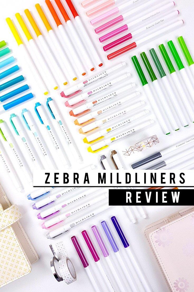 Zebra Mildliners Review