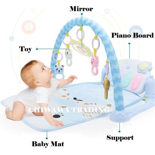 Baby Piano Gym Mat 5 - Click to view full size photo