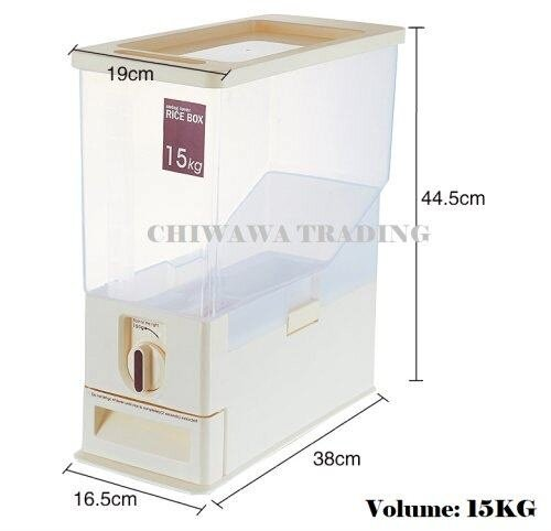 Rice Container 15KG - Click to view full size photo