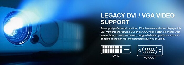 MSI H110M PRO-VD PLUS LGA 1151 Intel H110 Parallel Micro ATX Motherboard