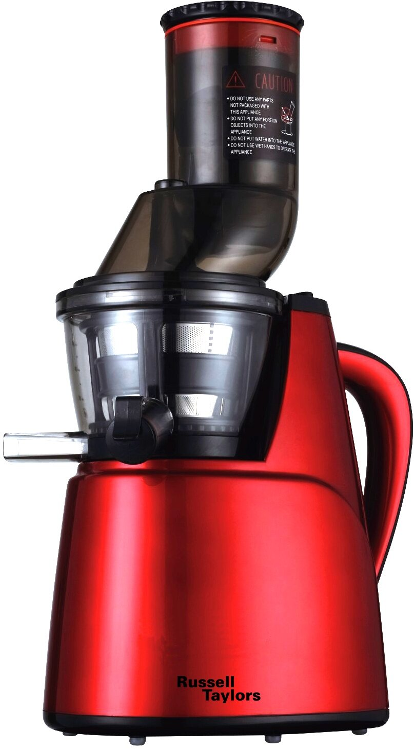 Best Wide Mouth Slow Juicer : Russell Taylors Whole Fruit Slow Juicer SJ-35 - extra wide mouth Lazada