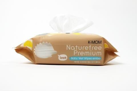 Organic Premium Wipes with Lid 100s