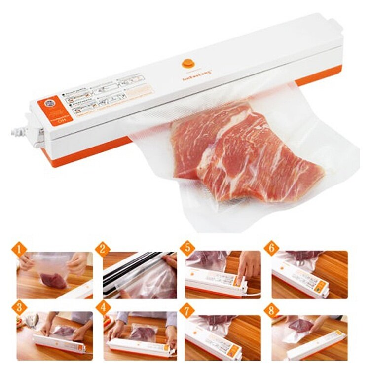 Fresh Pack Pro Home Electric Vacuum Sealer Packing Machine Sealer Vacuum Packer