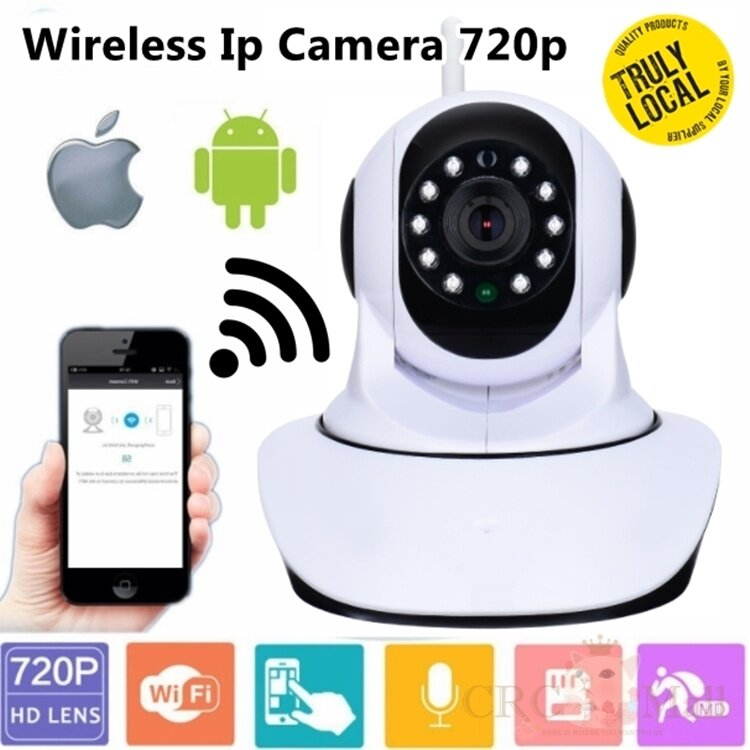 Generic IP CAM 720P HD Wifi Home Office Security Camera P2P