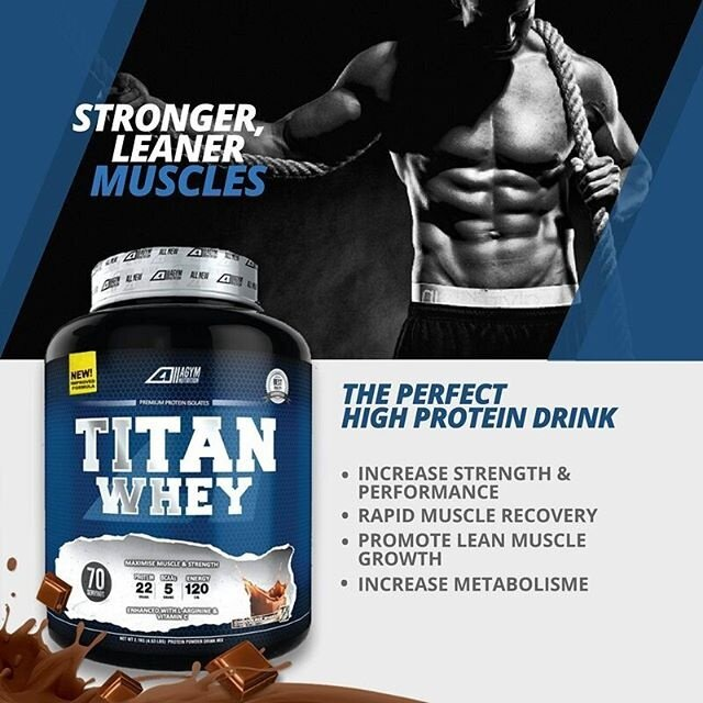 titan whey protein halal 1kg eco pack chocolate
