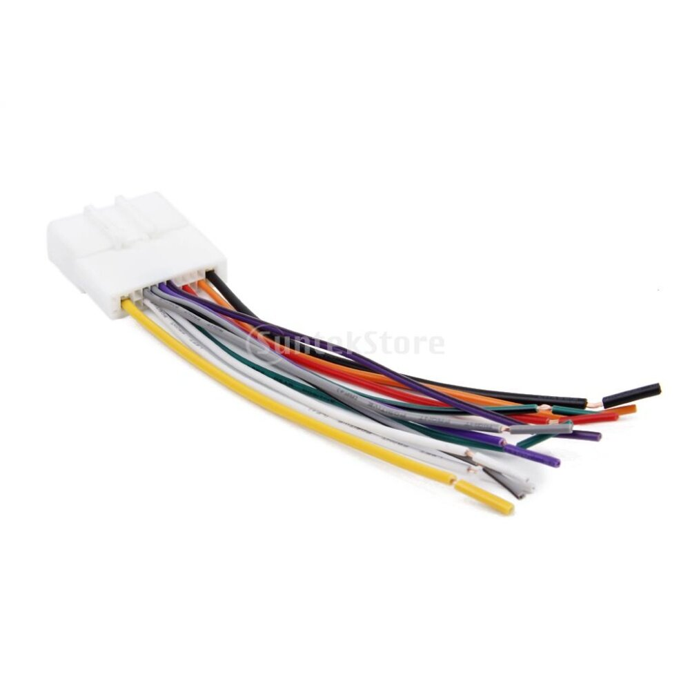 1x radio stereo wire harness cable