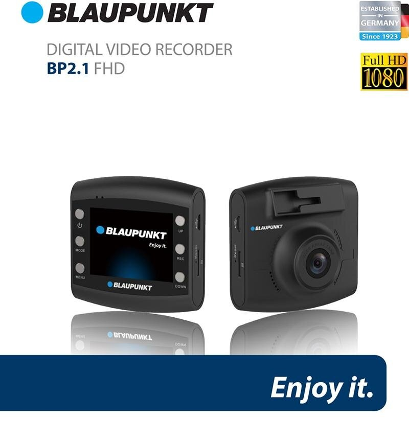 blaupunkt bp2 1 fhd dash cam with 16gb memory card 120. Black Bedroom Furniture Sets. Home Design Ideas