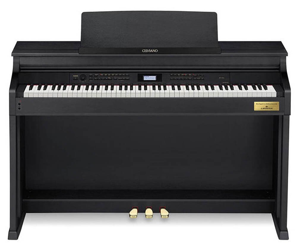 88 Key AP-700 BK Celviano Piano Bench 256 Note Polyphony 17 Track / 5 Song Recorder 30W x 30W Amplifier