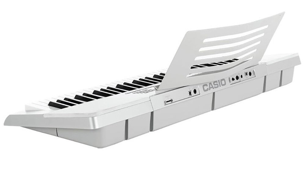 61 Key Casio LK-280 Electronic Keyboard Piano Organ 48 Note-Polyphony 600 Tones 150 Rhythms 152 Songs (SE) TR SS VFG USB SD c/w Mic sampling Chord Book