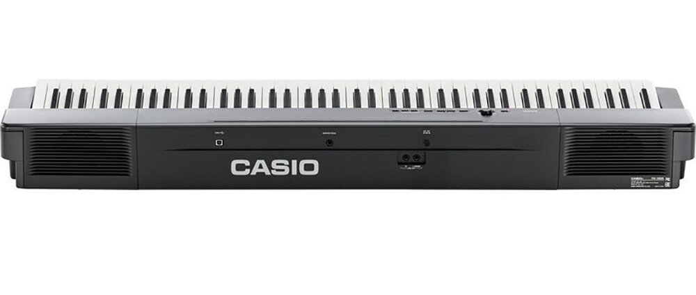 88 Key Casio PX-360 Electronic Keyboard Piano Organ 18 Tones 60 Songs 128 Note Polypohny MIDI Recorder 2 Tracks True Round High Defined Speakers